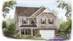 CalAtlantic Homes Landrum O (Home Site 0052) of the Heritage Hall community in Fort Mill, SC.
