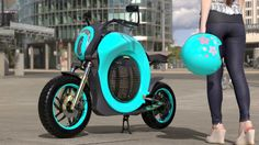 Grasshopper Bike Could Be Your Future Choice Personal Transporter - The Grasshopper design is based around a clean concept with storage and unity in mind. This could be the future of personal transportation if realized. #tech