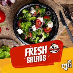 για εσένα που επιθυμείς ένα ελαφρύ γεύμα😋 ή απλά για να συνοδεύσεις το αγαπημένο σου πιάτο με κάτι εξίσου γευστικό και χορταστικό‼️ Τσέκαρε το μενού μας κάνοντας κλικ στο www.mammaspizza.gr #serres #salads #mammaspizza #onlinedelivery Sprouts, Salads, Fresh, Vegetables, Food, Essen, Vegetable Recipes, Meals, Yemek