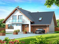 My Home Design, Modern House Design, Dormer Bungalow, Black House Exterior, Bungalow House Design, Forest House, House Extensions, Design Case, Home Fashion