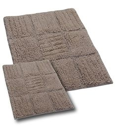 Castle Hill Bath Rug Sets, 20 By By Natural