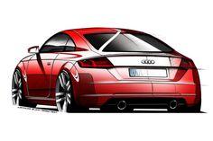 Audi geeft een voorproefje van de nieuwe TT