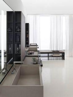 Art and Design: Vincent van Duysen, meubilair en ontwerpen Spa Design, Bath Design, House Design, Villa Design, Design Hotel, Restroom Design, Bathroom Interior Design, Minimal Bathroom, Modern Bathroom
