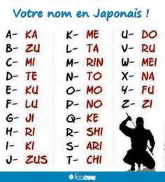 Anyone here got some badass Japanese names?