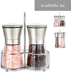 Premium Stainless Steel Salt and Pepper Grinder Set With ... https://www.amazon.com/dp/B011PT06U8/ref=cm_sw_r_pi_dp_U_x_O-ZCAbCWXAZNV   Use code: NCTEBIMM