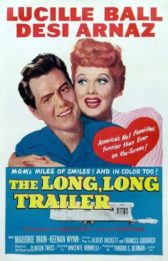 "Movie Poster for ""The Long,Long Trailer"""