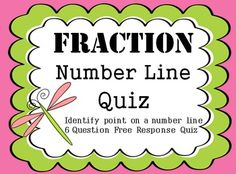 Simplify Fraction Assessments  Multiple Choice Assessments Great