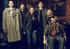 Jensen Ackles, Dean Winchester, Jared Padalecki, Sam Winchester, Jim Beaver, Bobby Singer, Misha Collins, Castiel, Alone Tal, Jo Harvelle, Ellen Harvelle, Supernatural