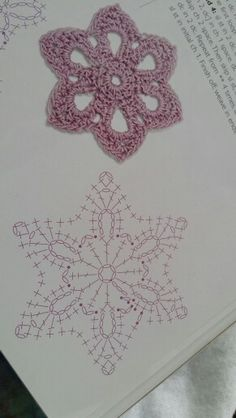 Best 12 Crochet snowflake with chart… – Page 804666658395032721 – SkillOfKing. Crochet Snowflake Pattern, Crochet Flower Tutorial, Crochet Stars, Crochet Motifs, Crochet Snowflakes, Crochet Flower Patterns, Crochet Diagram, Crochet Flowers, Crochet Stitches