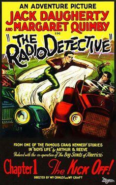 The Radio Detective - 1926 - Movie Poster