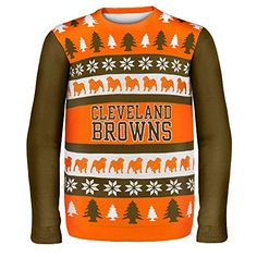 Forever Collectibles CLEVELAND BROWNS ONE TOO MANY UGLY SWEATER EXTRA LARGE Forever Collectibles http://www.amazon.com/dp/B00M4PUEO6/ref=cm_sw_r_pi_dp_Anwwub0EBF4H9. PERFECT FOR SEAN!!!!