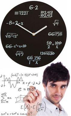 Ha próbára tennéd a barátaid matektudását, vagy matekzseni vagy és inkább minden egyes alkalommal a pontos időt inkább kiszámolnád, mint leolvasnád,...