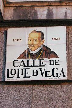 Barcelona ~ beautiful ceramic street name plate