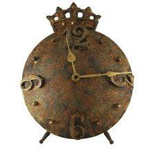 Peilit, kellot & kehykset - Kruunu -pöytäkello, Carl-Gustav