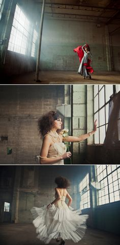 Bubby and Bean ::: Living Creatively: DREAMING // Amazing Warehouse Fashion Shoot