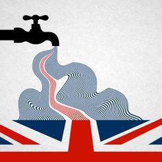 United Kingdamn! Brexit illustration | Andrea Bettega on Behance