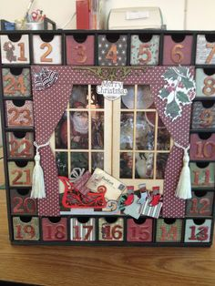 Kaiser craft Advent Calendar complete
