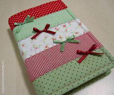 Capa para Bíblia by Atelier VITA COLORITA, via Flickr cuadernos agendas
