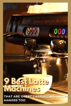 Latte Maker, Cappuccino Maker, Cappuccino Machine, Espresso Maker, Coffee Milk, Coffee Cafe, Best Latte Machine, Craving Coffee, Cafe Barista