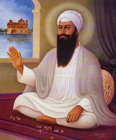 indian guru | Guru Ram Das Ji [Canvas on oil painting] - $89.00