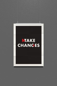 Typography Posters by Kevin Lane, via Behance