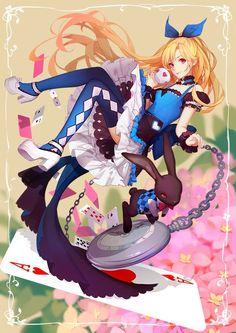 Alice / Artist: http://www.pixiv.net/member.php?id=1980643: