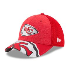 Men s Kansas City Chiefs New Era White 2017 NFL Draft On Stage Low Profile  59FIFTY Fitted Hat. Nfl GearHats ... fbca69096
