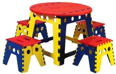 13 Best Kids Folding Table And Chair Set Images Kids Folding Table