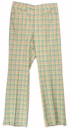 Vintage Plaid Polo Pants - Plaid Polo Slacks - Rainbow Plaid Pants - Checkered Pants - 90s Polo Pants - 80s polo Pants - Polo Golf Pants prxFjB