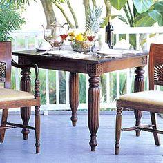 Mandalay Gaming Table from PoshLiving