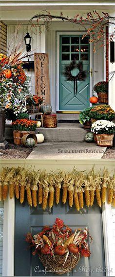 25-front-door-fall-decorations-apieceofrainbow (4)