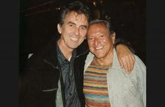 Percussionist Emil Richards and George