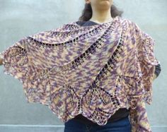 Shawlsscarves and wraps hand knitted by Livianahandmade on Etsy