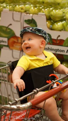 Kanga Boo alternative to shopping cart covers. Baby by TheKangaBoo