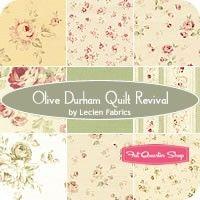 Olive Durham Quilt Revival Fat Quarter BundleLecien Fabrics