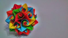 Origami Blossom Curls by exoticfolds on Etsy, USD$10.48.