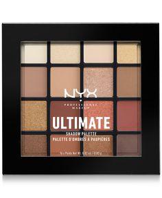 Nyx Ultimate Shadow Palette Eye - Warm Neutrals *us Fast Ship Pressed Powder Best Drugstore Eyeshadow, Dupes Nyx, Glowy Makeup, Nyx Cosmetics, Makeup Eyeshadow, Beauty Makeup, Nyx Lipstick, Macy's Beauty, Korean Eyeshadow