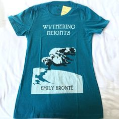 Wuthering Heights T-shirt Super soft tee with Wuthering Heights graphic in front. Never worn, still has tags. NOT AMERICAN APPAREL American Apparel Tops Tees - Short Sleeve