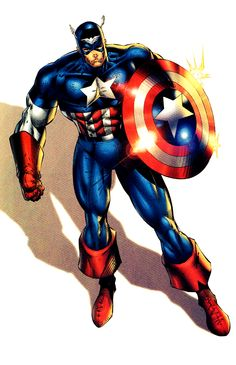 Captain America (Reborn version) by Rob Liefeld