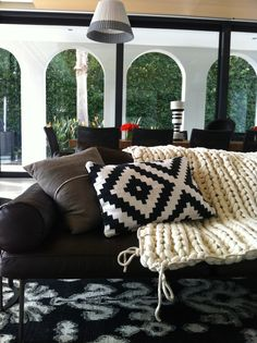 Little Dandelion: NB - throw on lounge
