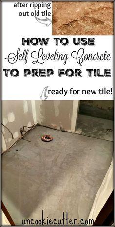 Basement Flooring, Living Room Flooring, Diy Flooring, Flooring Ideas, Home Renovation, Home Remodeling, Self Leveling Floor, Concrete Slab, Home Repairs
