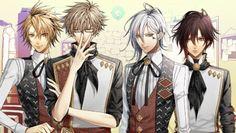 Amnesia Anime Shin, Toma, Ikki, Kent.