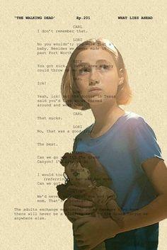 The Walking Dead script
