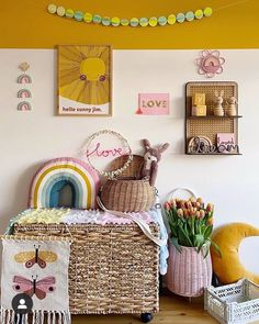 Children bedroom ideas - this is a great colour combination for any children's bedroom kitted out with perfect accessories for the home Playroom Design, Playroom Decor, Creative Decor, Creative Kids, Safari Kids Rooms, Baby Changing Station, Modern Kids Bedroom, Inspiration For Kids, Bedroom Inspiration