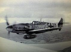 Mediterranean Sea, 1 December 1943: the Messerschmitt Bf 109G-6