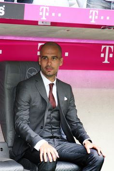 Pep Guardiola: The most stylish man in football. And probably the universe
