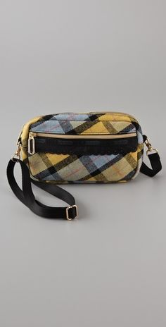 LeSportsac Platinum Plaid Small Cross Body Bag, $24.00  #LeSportsac