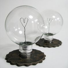Make this little light bulb with a leftover Christmas ornament!