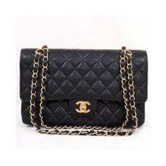 Bolsa Chanel 2.55 Classic Flap Caviarhttp://www.parisbolsas.com.br/bolsa-chanel-classic-flap-caviar-aaa