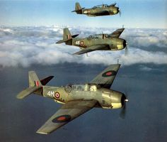 Grumman Avengers of the Royal Navy's Fleet Air Arm Ww2 Aircraft, Fighter Aircraft, Military Aircraft, Grumman Aircraft, Aircraft Carrier, Air Fighter, Fighter Jets, Ww2 Pictures, Ww2 Planes